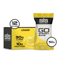 GO Energy Bake 50g - 12 Pack (Lemon)