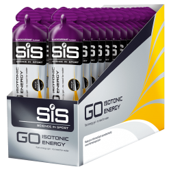 GO Isotonic Energy Gel - 30 Pack (Blackcurrant)