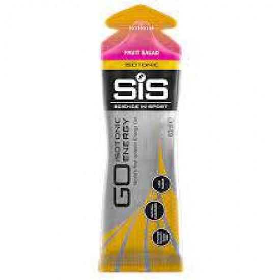 GO Isotonic Energy Gel 60ml - Single Unit (Fruit Salad)